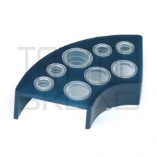 Подставка под колпачки пластиковая синяя