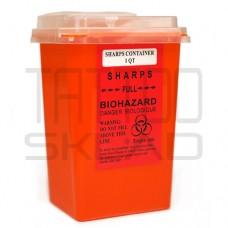 Контейнер для спец. мусора Оранжевый