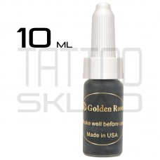 Пигмент для татуажа Golden Rose Jet Black 10 ml.