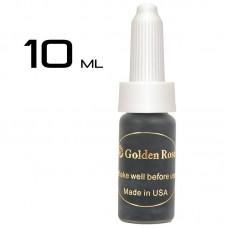 Пигмент для татуажа Golden Rose Jet Black 10 ml.