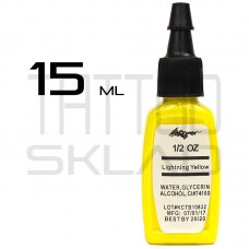 Тату краска Kuro Sumi Lightning Yellow 15ml.