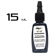 Тату краска Kuro Nuclear Green 15ml.