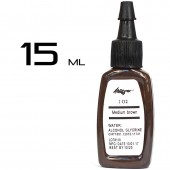 Тату краска Kuro Sumi Medium Browm 15ml.