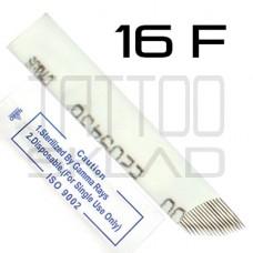 Игла для микроблейдинга 16F