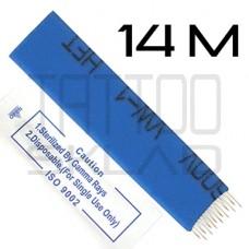 Игла для микроблейдинга 14M