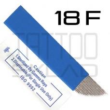 Игла для микроблейдинга 18F