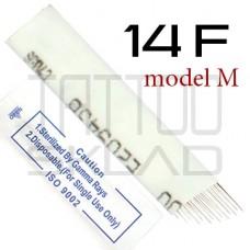 Игла для микроблейдинга 14 F m