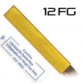 Игла для микроблейдинга 12FG