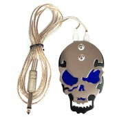 Тату педаль Blue Skull
