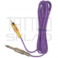 Тату клипкорд силиконовый RCA Purple
