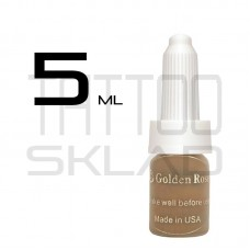 Пигмент для татуажа Golden Rose Brown Coffee 5 ml.