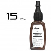 Тату краска Kuro Sumi Light Browm 15ml.