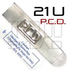 Игла для микроблейдинга P.C.D. 21U