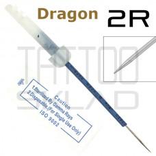 Игла для татуажа Dragon 2R